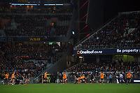 A general view during the Bledisloe Cup rugby match between the New Zealand All Blacks and Australia Wallabies at Eden Park in Auckland, New Zealand on Saturday, 7 August 2021. Photo: Dave Lintott / lintottphoto.co.nz