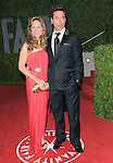 Robert Downey Jr. & wife at The 2009 Vanity Fair Oscar Party held at The Sunset Tower Hotel in West Hollywood, California on February 22,2009                                                                                      Copyright 2009 RockinExposures / NYDN