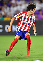 Orlando, FL - Wednesday July 31, 2019:  Sergio Camello #34 during an Major League Soccer (MLS) All-Star match between the MLS All-Stars and Atletico Madrid at Exploria Stadium.