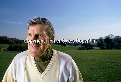 Jimmy Hill, television sports commentator 1990s UK