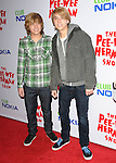 Dylan & Cole Sprouse at the The Pee-Wee Herman Show Opening Night held at Club Nokia at L.A. Live in Los Angeles, California on January 20,2010                                                                   Copyright 2009 DVS / RockinExposures