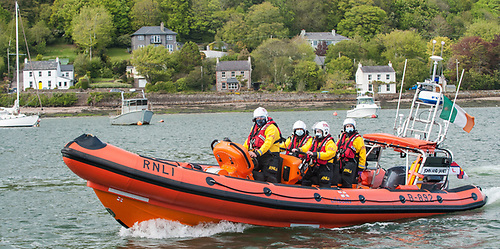 Crosshaven RNLI brought the casualty into the Lifeboat station and treated his injuries along with Crosshaven Coast Guard first responders