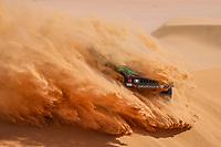 5th January 2021; Dakar Rally stage 3; #355 Saleh Alabdalali (sau), Alnaim Mohammed (sau), Hummer, Saleh, Auto, action during the 3rd stage of the Dakar 2021 between Wadi Al Dawasir and Wadi Al Dawasir, in Saudi Arabia on January 5, 2021