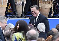 BOGOTÁ - COLOMBIA, 07-08-2018: Juan Carlos Varela, presidente de Panama, durante la ceremonia de juramento en donde Ivan Duque, toma posesión como presidente de la República de Colombia para el período constitucional 2018 - 22 en la Plaza Bolívar el 7 de agosto de 2018 en Bogotá, Colombia. / Juan Carlos Varela, president of Panama, during the swearing ceremony where Ivan Duque, takes office to constitutional term as president of the Republic of Colombia 2018 - 22 at Plaza Bolivar on August 7, 2018 in Bogota, Colombia. Photo: VizzorImage/ Gabriel Aponte / Staff