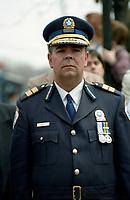 Policeman's funerals circa 2003<br /> <br /> FILE PHOTO : Agence quebec Presse