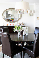 wenge wooden dining table