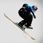 Pix: Shaun Flannery/shaunflanneryphotography.com<br /> <br /> COPYRIGHT PICTURE>>SHAUN FLANNERY>01302-570814>>07778315553>><br /> <br /> 19th April 2015<br /> British Freeski Camp<br /> Halifax Ski Slope.<br /> Katie Summerhayes