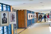 Allée centrale, centre culturel Tjibaou