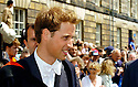 23/06/2005         Copyright Pic : James Stewart.File Name : sct_jspa04 wills graduation.PRINCE WILLIAM GREETS THE CROWDS AFTER HIS GRADUATION FROM ST ANDREWS UNIVERSITY......Payments to :.James Stewart Photo Agency 19 Carronlea Drive, Falkirk. FK2 8DN      Vat Reg No. 607 6932 25.Office     : +44 (0)1324 570906     .Mobile   : +44 (0)7721 416997.Fax         : +44 (0)1324 570906.E-mail  :  jim@jspa.co.uk.If you require further information then contact Jim Stewart on any of the numbers above.........