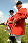 10 May 09:  Buglers at the Willowdale Steeplechase in Willowdale, Pennsylvania
