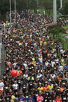 BOGOTÁ- COLOMBIA,28-07-2019:Media Maratón de Bogotá,ganada por los africanos Tola Tamirat en hombres y Ruth Chepngetich en mujeres./Half Marathon of Bogotá, won by Africans Tola Tamirat in men and Ruth Chepngetich in women.. Photo: VizzorImage / Felipe Caicedo / Staff