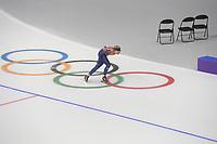 OLYMPIC GAMES: PYEONGCHANG: 17-02-2018, Gangneung Oval, Long Track, Training session, Irene Schouten (NED), ©photo Martin de Jong