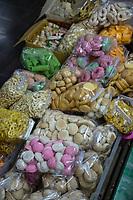 Yogyakarta, Java, Indonesia.  Sweets, Candies, Biscuits, Cookies.  Beringharjo Market.