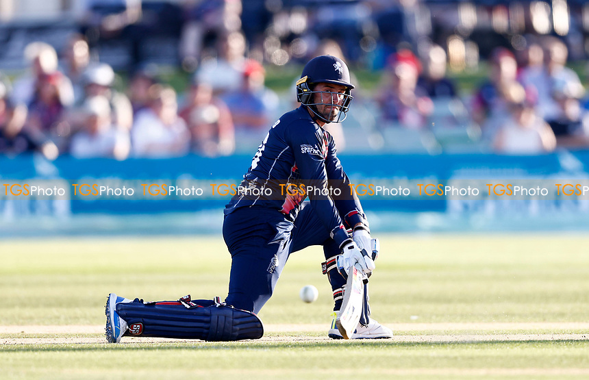 Calum Macleod hits out for Kent during Kent Spitfires vs Sussex Sharks, Vitality Blast T20 Cricket at The Spitfire Ground on 18th July 2021