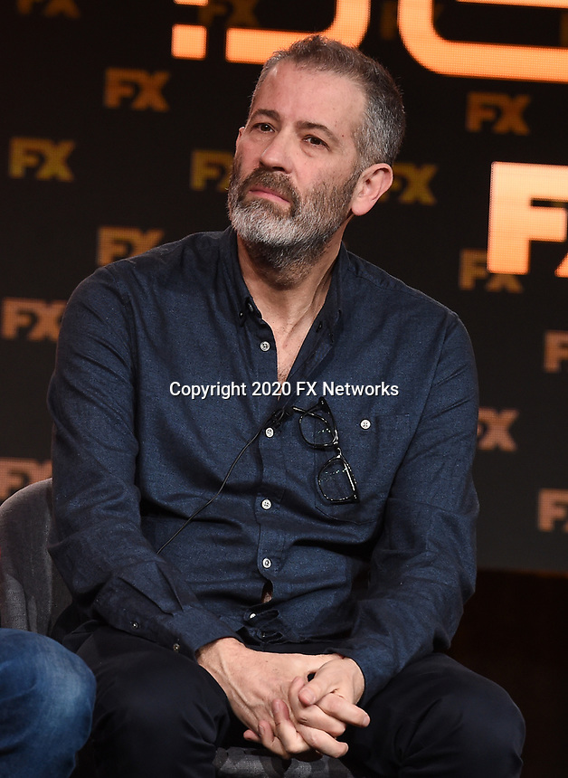 """PASADENA, CA - JANUARY 9: Executive Producer Allon Reich attends the panel for """"Devs"""" during the FX Networks presentation at the 2020 TCA Winter Press Tour at the Langham Huntington on January 9, 2020 in Pasadena, California. (Photo by Frank Micelotta/FX Networks/PictureGroup)"""