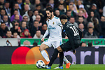 during the UEFA Champions League 2017-18 Round of 16 (1st leg) match between Real Madrid vs Paris Saint Germain at Estadio Santiago Bernabeu on February 14 2018 in Madrid, Spain. Photo by Diego Souto / Power Sport Images