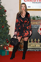 """Tyne Lexy Clarson<br /> arriving for the """"Surviving Christmas with the Relatives"""" premiere at the Vue Leicester Square, London<br /> <br /> ©Ash Knotek  D3461  21/11/2018"""