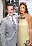 Andy Blankenbuehler and Elly Blankenbuehler attends the Broadway Opening Night performance of 'The Prince of Broadway' at the Samuel J. Friedman Theatre on August 24, 2017 in New York City.