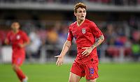 WASHINGTON, D.C. - OCTOBER 11: Josh Sargent #19 of the United States asking for the ball during their Nations League game versus Cuba at Audi Field, on October 11, 2019 in Washington D.C.
