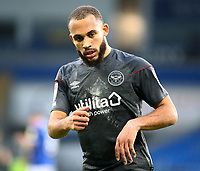26th December 2020; Cardiff City Stadium, Cardiff, Glamorgan, Wales; English Football League Championship Football, Cardiff City versus Brentford; Bryan Mbeumo of Brentford