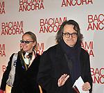 """GIG MARZULLO CON ANTONELLA DE IULIIS<br /> RED CARPET - PREMIERE """"BACIAMI ANCORA """" DI GABRIELE MUCCINO - AUDITORIUM DELLA CONCILIAZIONE ROMA 2010"""