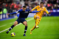 Kylian MBappe (Fra) vs Sergiu Platica (Mda) <br /> Paris 20191114 Stade De France  <br /> Football France - Moldavia <br /> Qualification Euro 2020 <br /> Foto JB Autissier / Panoramic/Insidefoto <br /> ITALY ONLY