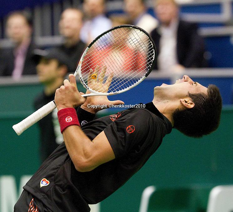 13-2-10, Rotterdam, Tennis, ABNAMROWTT,.Novak Djokovic,