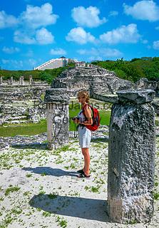 Mexiko, Yucatan, Quintana Roo, Cancun: die Maya-Ruinen von El Rey | Mexico, Yucatan, Quintana Roo, Cancun: Ruins of El Rey (Mayan Ruins)
