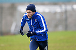 St Johnstone Training…. 09.12.20<br />Murray Davidson pictured during training ahead of Saturdays home game against Livingston.<br />Picture by Graeme Hart.<br />Copyright Perthshire Picture Agency<br />Tel: 01738 623350  Mobile: 07990 594431