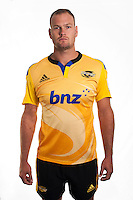 James Broadhurst. Hurricanes Super Rugby official headshots at Rugby League Park, Wellington, New Zealand on Tuesday, 13 January 2015. Photo: Dave Lintott / lintottphoto.co.nz