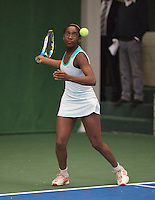20131201,Netherlands, Almere,  National Tennis Center, Tennis, Winter Youth Circuit, Sylvia Okafor<br /> Photo: Henk Koster