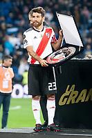 River Plate Leonardo Ponzio celebrating a victory during  Commebol Final Match between River Plate and Boca Juniors at Santiago Bernabeu Stadium in Madrid, Spain. December 09, 2018. (ALTERPHOTOS/Borja B.Hojas) /NortePhoto.com