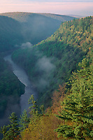 Pine Creek Gorge<br />   from Colton Point<br /> Colton Point State Park<br /> Tioga County,  Pennsylvania