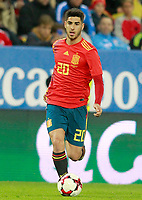 Spain's Marco Asensio during international friendly match. November 11,2017.(ALTERPHOTOS/Acero) /NortePhoto.com