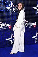 Ella Eyre<br /> arriving for the Global Awards 2020 at the Eventim Apollo Hammersmith, London.<br /> <br /> ©Ash Knotek  D3559 05/03/2020