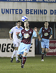 Drog's Stephen McCrossan as Drogheda Utd V UCD in the Airtricity League. (result UCD 1 Drogheda Utd 0)..(Photo credit should read Jenny Matthews/www.newsfile.ie)....This Picture has been sent you under the conditions enclosed by:.Newsfile Ltd..The Studio,.Millmount Abbey,.Drogheda,.Co Meath..Ireland..Tel: +353(0)41-9871240.Fax: +353(0)41-9871260.GSM: +353(0)86-2500958.email: pictures@newsfile.ie.www.newsfile.ie.