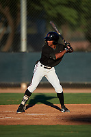 AZL D-backs Glenallen Hill Jr. (6) at bat during an Arizona League game against the AZL Angels on July 20, 2019 at Salt River Fields at Talking Stick in Scottsdale, Arizona. The AZL Angels defeated the AZL D-backs 11-4. (Zachary Lucy/Four Seam Images)