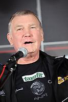 Trainer Fritz Sdunek (D)