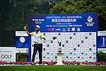 Trishul Ajjikuttira of India tees off during the 2011 Faldo Series Asia Grand Final on the Faldo Course at Mission Hills Golf Club in Shenzhen, China. Photo by Victor Fraile / Faldo Series