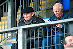 St Johnstone v Dunfermline....25.02.12   SPL.Steve Lomas watches from the stands.Picture by Graeme Hart..Copyright Perthshire Picture Agency.Tel: 01738 623350  Mobile: 07990 594431
