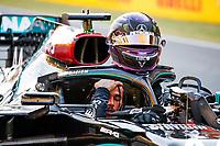 HAMILTON Lewis (gbr), Mercedes AMG F1 GP W11 Hybrid EQ Power+, portrait during the Formula 1 Pirelli Gran Premio Della Toscana Ferrari 1000, 2020 Tuscan Grand Prix, from September 11 to 13, 2020 on the Autodromo Internazionale del Mugello, in Scarperia e San Piero, near Florence, Italy -  <br /> Mugello 13-09-2020 Formula 1 Gp Toscana<br /> Photo FLORENT GOODEN/DPPI/Panoramic/Insidefoto <br /> ITALY ONLY