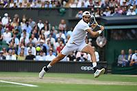 9th July 2021, Wimbledon, SW London, England; 2021 Wimbledon Championships, semi finals;  Matteo Berrettini Ita