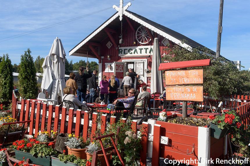 Café Regatta in Töölö Tölö, Helsinki, Finnland