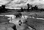 Omo River Basin, 150 Kilometers from the capitol city of Addis-Abeba, Ethiopia 2003-2004