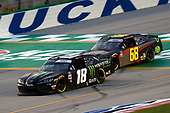 July 9, 2020:  #18: Riley Herbst, Joe Gibbs Racing, Toyota Supra Monster Energy  during the Shady Rays 200 at Kentucky Speedway in Sparta, KY. (HHP/Harold Hinson)