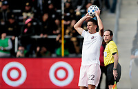 LOS ANGELES, CA - MARCH 01: Ben Sweat #22 of Inter Miami CF during a game between Inter Miami CF and Los Angeles FC at Banc of California Stadium on March 01, 2020 in Los Angeles, California.