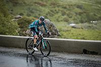 Franck Bonnamour (FRA/B&B Hotels p/b KTM) up the Cormet de Roselend.<br /> <br /> Stage 9 from Cluses to Tignes (144.9km)<br /> 108th Tour de France 2021 (2.UWT)<br /> <br /> ©kramon
