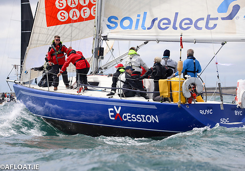 The Fortunes of the Two Northern Ireland Yachts in the Dun Laoghaire to Dingle Race