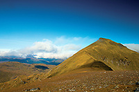 The Munro of Stob Binnein from Stob Coire an Lochain, Loch Lomond and the Trossachs National Park