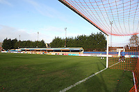 General view of the ground during Braintree Town vs Tranmere Rovers, Vanarama National League Football at the IronmongeryDirect Stadium on 19th November 2016